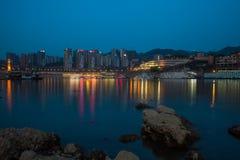 Nacht in Chongqing Royalty-vrije Stock Afbeelding