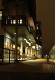 Nacht in de stad. Stock Fotografie