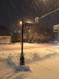 nacht De winter index Stock Fotografie