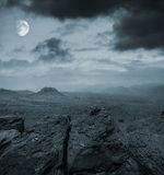 Nacht in den Bergen Stockfoto