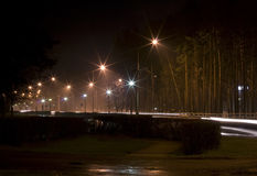 Nacht in der Stadt Lizenzfreies Stockfoto