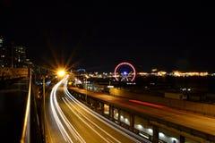 Nacht in der Stadt Lizenzfreie Stockfotos