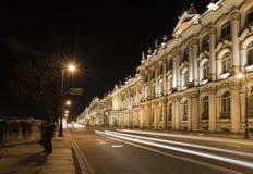Nacht dichtbij Kluis Royalty-vrije Stock Foto