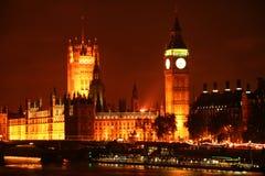 Big Ben en Paleis van Westminster stock fotografie