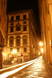 Nacht in Florenz, Italien lizenzfreie stockbilder