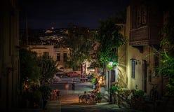 Nacht in Griechenland Lizenzfreies Stockfoto