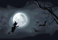 Nacht. Halloween Stockfotos