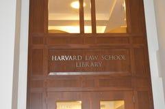 Nacht Harvard in Boston, USA am 11. Dezember 2016 Lizenzfreie Stockfotografie