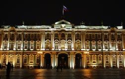 Nacht Heilige Petersburg Stock Foto's