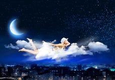 Nacht het dromen Royalty-vrije Stock Foto's