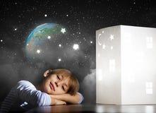 Nacht het dromen Stock Foto