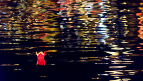 Nacht in Hoi An lizenzfreies stockbild