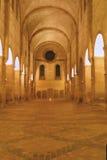 Nacht im Kloster Lizenzfreie Stockfotografie