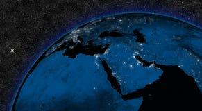 Nacht im Mittlere Osten vektor abbildung