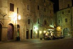 Nacht in Italien lizenzfreies stockbild