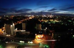 Nacht in Jekaterinburg Lizenzfreie Stockbilder