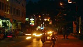 Nacht Karon stock footage
