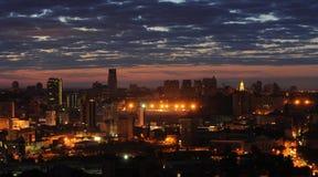 Nacht Kiev Royalty-vrije Stock Afbeeldingen