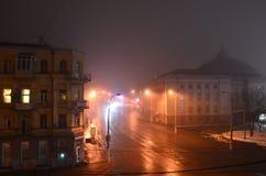 Nacht Kiew Stockbild