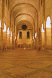 Nacht in klooster Royalty-vrije Stock Fotografie