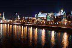 Nacht Kremlin Lizenzfreie Stockfotografie