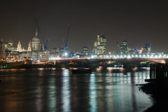 Nacht Londen Royalty-vrije Stock Afbeelding