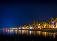 Nacht in Marmaris Lizenzfreie Stockbilder