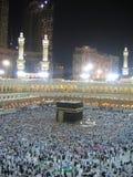 Nacht Mekka stock afbeeldingen