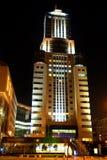 Nacht Moskau Stockfoto