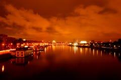 Nacht Moskou Royalty-vrije Stock Fotografie