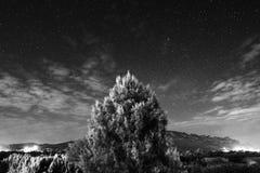 nacht lizenzfreies stockfoto