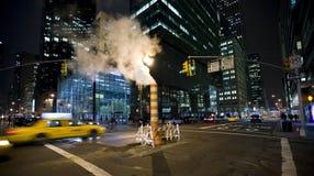 Nacht in New York Stock Afbeelding