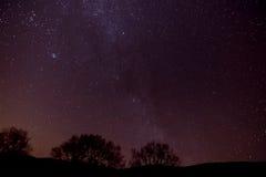 Nacht am Observatorium Lizenzfreies Stockbild