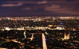 Nacht Paris stockbild