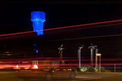 Nacht-Pasing-Lichter Stockbilder