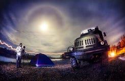 Nacht Photography Lizenzfreie Stockfotografie