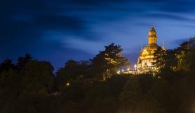 Nacht Praag Royalty-vrije Stock Fotografie