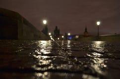 Nacht Praha Royalty-vrije Stock Fotografie