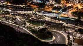Nacht Puerto Rico, Canarische Eilanden stock foto's