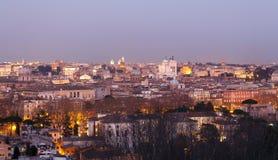 Nacht in Rom, Italien lizenzfreies stockbild