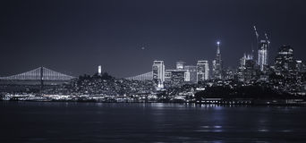 Nacht San Francisco stockfoto