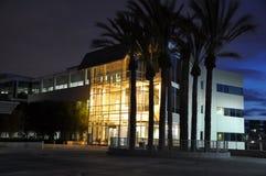 Nacht in Silicon Valley lizenzfreie stockfotos