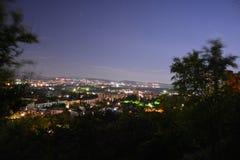 Nacht Simferopol 003 stockfotografie