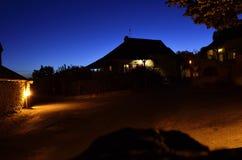 Nacht Taize Lizenzfreie Stockfotografie