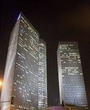 Nacht Tel Aviv stock fotografie