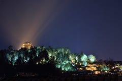 Nacht van Lijiang Royalty-vrije Stock Afbeeldingen