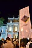 Nacht van Musea in Boekarest Royalty-vrije Stock Fotografie