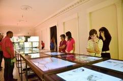 Nacht van Musea in Boekarest - Stirbei-Paleis Royalty-vrije Stock Foto's