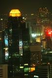 Nacht van stad van Engelen Royalty-vrije Stock Afbeeldingen