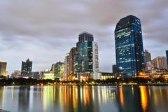 Nacht van Thailand Royalty-vrije Stock Afbeelding